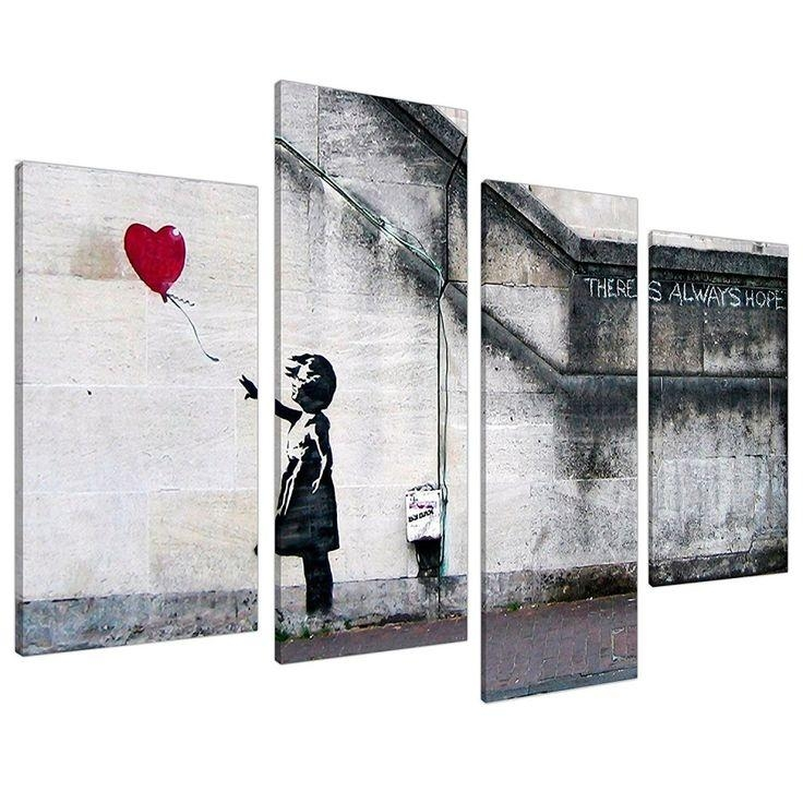 Best 25+ Banksy Canvas Prints Ideas On Pinterest | Banksy Canvas With Banksy Wall Art Canvas (View 17 of 20)