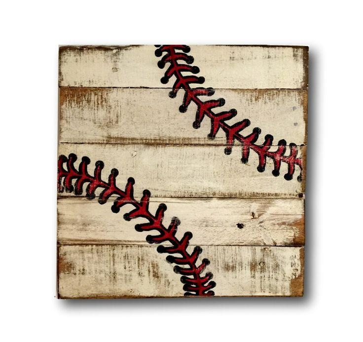 Best 25+ Baseball Wall Art Ideas Only On Pinterest | Baseball Inside Vintage Baseball Wall Art (Image 8 of 20)