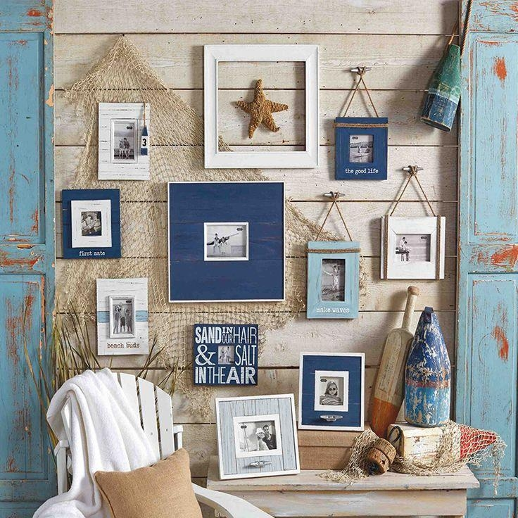 Best 25 Beach Style Wall Decor Ideas On Pinterest Intended For