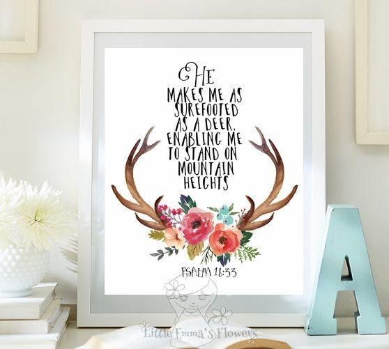 Best 25+ Bible Verse Art Ideas On Pinterest | Bible Verse Decor Regarding Nursery Bible Verses Wall Decals (Image 4 of 20)