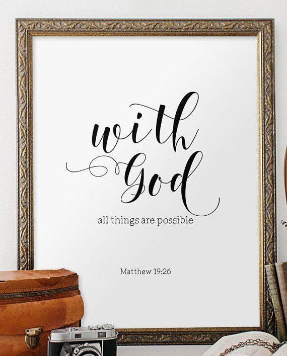 Best 25+ Bible Verse Art Ideas On Pinterest | Bible Verse Decor With Bible Verses Framed Art (View 17 of 20)