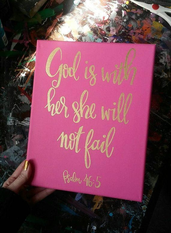 Best 25+ Bible Verse Canvas Ideas On Pinterest | Bible Verse In Scripture Canvas Wall Art (Image 6 of 20)