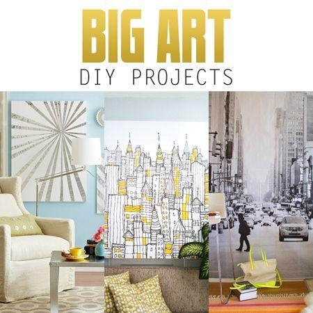 Best 25+ Big Wall Art Ideas On Pinterest | Hallway Art, Abstract With Regard To Big Wall Art (Image 7 of 20)