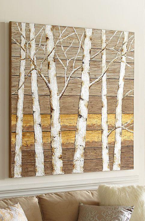Best 25+ Birch Tree Art Ideas On Pinterest | Paintings Of Trees In Aspen Tree Wall Art (Image 7 of 20)