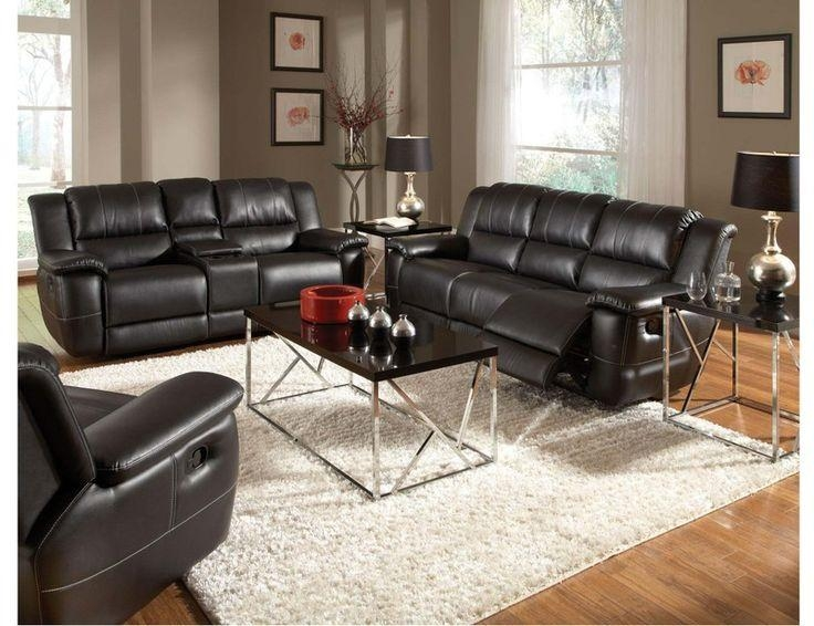 Best 25+ Black Leather Sofas Ideas On Pinterest | Black Leather Pertaining To Black Leather Sofas And Loveseat Sets (Image 4 of 20)