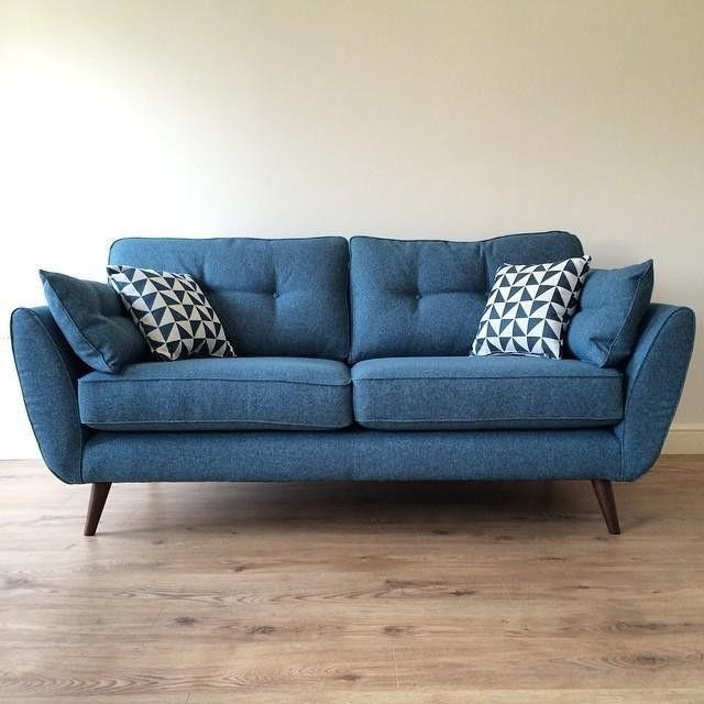 Best 25+ Blue Sofas Ideas On Pinterest | Sofa, Navy Blue Couches For Blue Sofas (Image 6 of 20)
