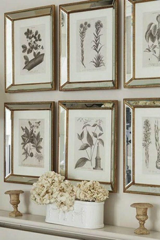 Best 25+ Botanical Gallery Wall Ideas On Pinterest | Dorm Photo For Mirrored Frame Wall Art (Image 5 of 20)