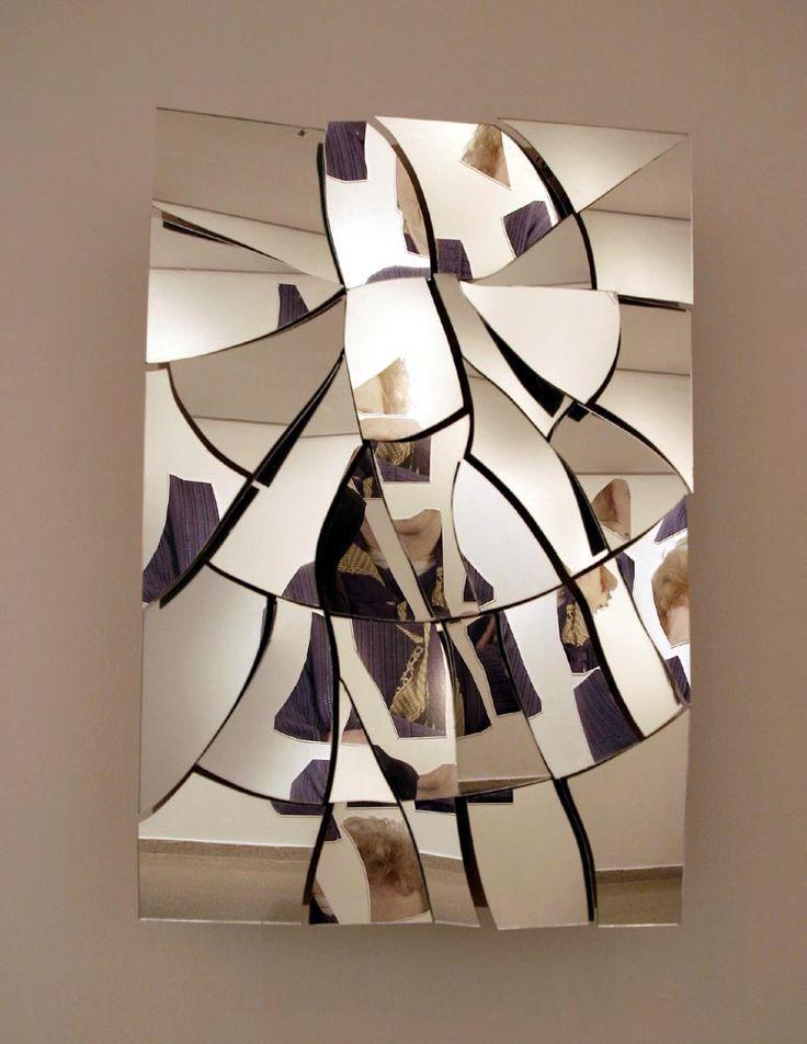 Best 25+ Broken Mirror Art Ideas On Pinterest | Broken Mirror Throughout Wall Art Mirrors Contemporary (Image 3 of 20)