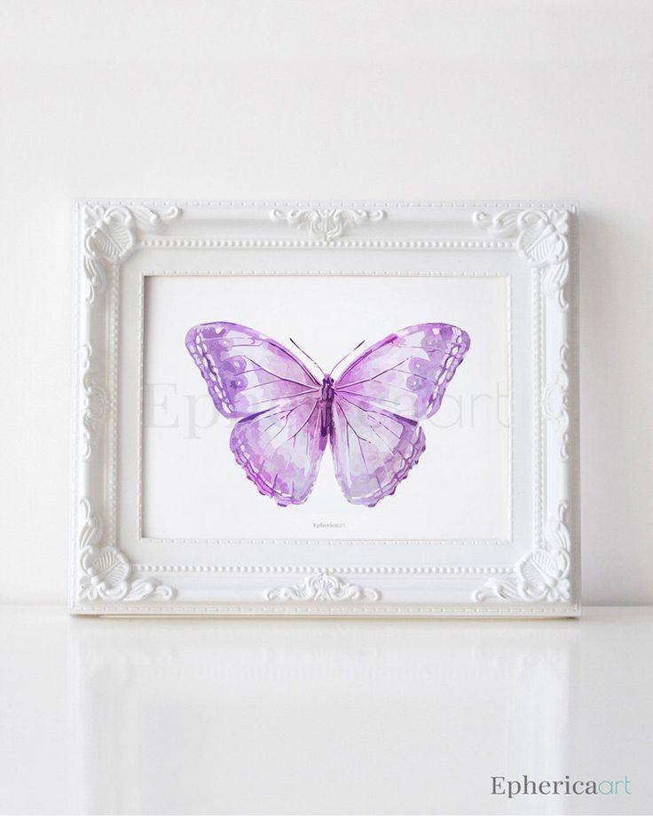 Best 25+ Butterfly Wall Art Ideas On Pinterest | 3D Butterfly Wall For Pink Butterfly Wall Art (Image 6 of 20)