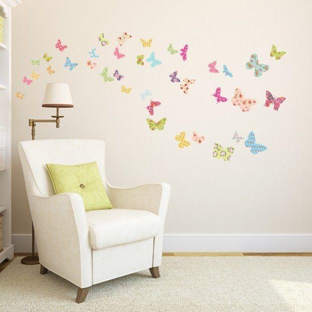 Best 25+ Butterfly Wall Art Ideas On Pinterest | 3D Butterfly Wall Intended For Butterflies Wall Art Stickers (View 19 of 20)