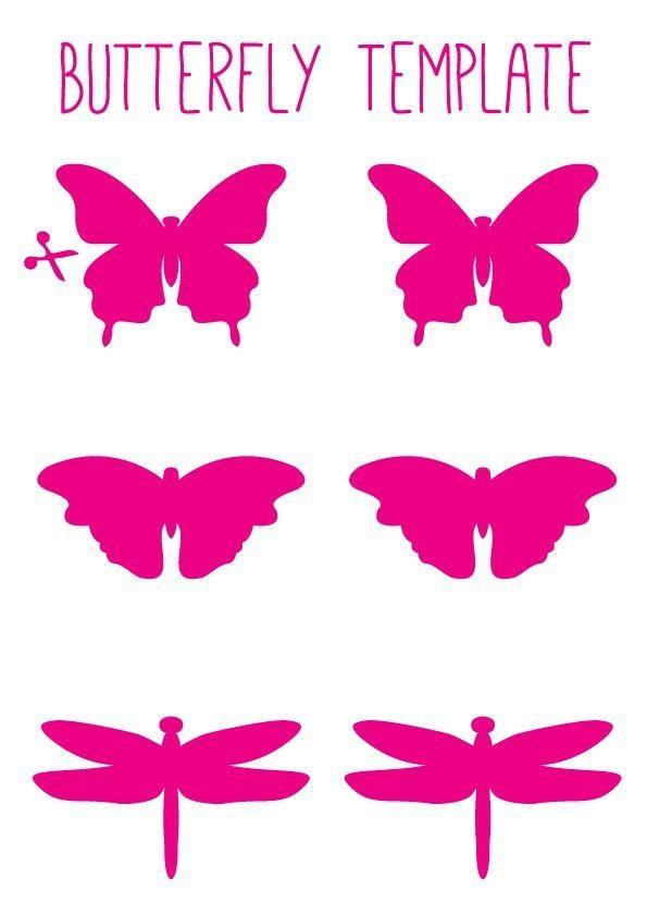 Best 25+ Butterfly Wall Art Ideas On Pinterest | 3D Butterfly Wall Pertaining To Pink Butterfly Wall Art (Image 8 of 20)