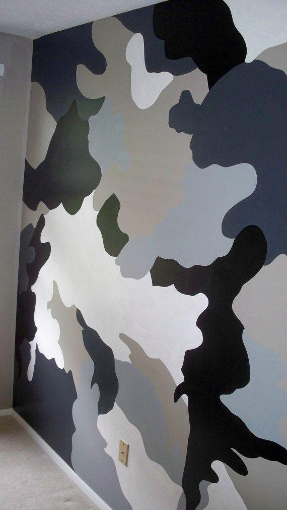 Featured Image of Camouflage Wall Art