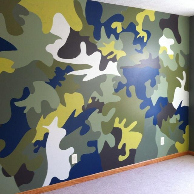 Best 25+ Camouflage Room Ideas On Pinterest | Camo Boys Rooms Regarding Camouflage Wall Art (Image 12 of 20)