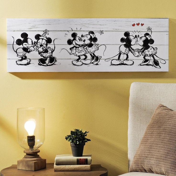 Wall Art: Disney Canvas Wall Art (#19 of 20 Photos)