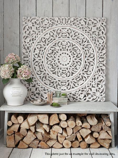 Best 25+ Carved Wood Wall Art Ideas On Pinterest | Thai Decor For White Wooden Wall Art (Image 1 of 20)