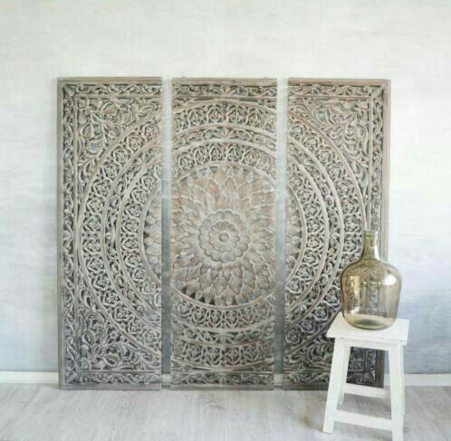 Best 25+ Carved Wood Wall Art Ideas On Pinterest | Thai Decor Intended For White Wooden Wall Art (View 16 of 20)