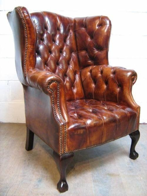Best 25+ Chesterfield Chair Ideas On Pinterest | Chesterfield Inside Red Chesterfield Chairs (Image 7 of 20)