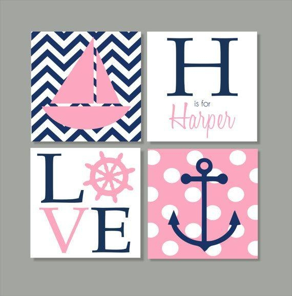 Best 25+ Childrens Wall Art Ideas On Pinterest | Childrens Pirate Regarding Nautical Canvas Wall Art (Image 2 of 20)