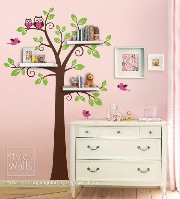 Best 25+ Childrens Wall Stickers Ideas On Pinterest | Childrens With Regard To Etsy Childrens Wall Art (Image 10 of 20)