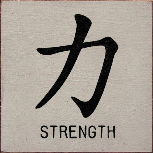 Best 25+ Chinese Symbol Tattoos Ideas On Pinterest | Japanese Inside Chinese Symbol For Inner Strength Wall Art (Image 18 of 20)