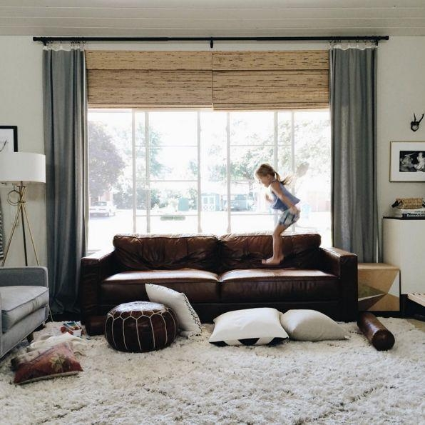 Best 25+ Chocolate Brown Couch Ideas That You Will Like On Intended For Window Sofas (View 8 of 20)