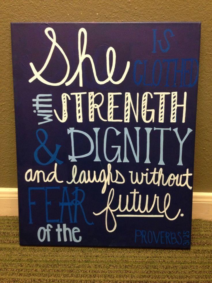 Best 25+ Christian Canvas Art Ideas On Pinterest | Christian Pertaining To Scripture Canvas Wall Art (Image 11 of 20)