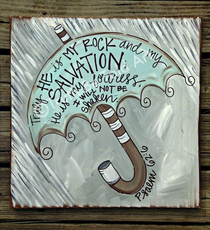 Best 25+ Christian Canvas Art Ideas On Pinterest | Christian Throughout Scripture Canvas Wall Art (Image 12 of 20)