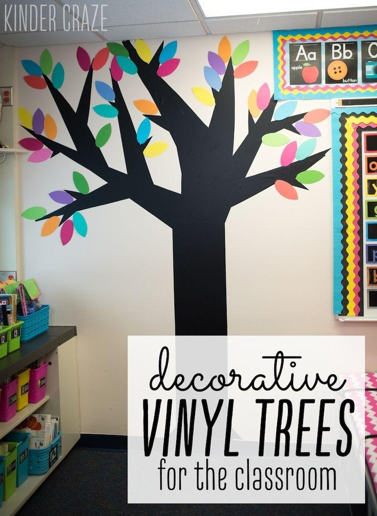 Best 25+ Classroom Wall Displays Ideas On Pinterest | Classroom Pertaining To Classroom Vinyl Wall Art (View 9 of 20)