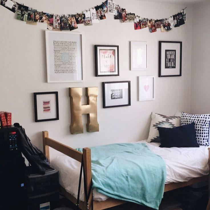 Best 25+ Classy Dorm Room Ideas On Pinterest | Dorm Room Pictures In College Dorm Wall Art (Image 5 of 20)