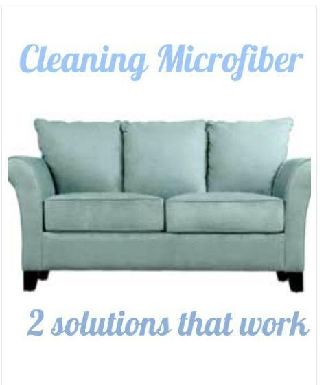 Best 25+ Cleaning Microfiber Sofa Ideas On Pinterest | Cleaning Intended For Blue Microfiber Sofas (Image 3 of 20)