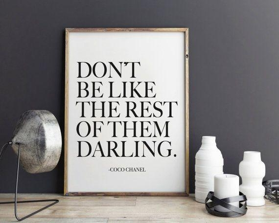 Best 25+ Coco Chanel Quotes Ideas Only On Pinterest | Chanel For Coco Chanel Quotes Framed Wall Art (View 9 of 20)