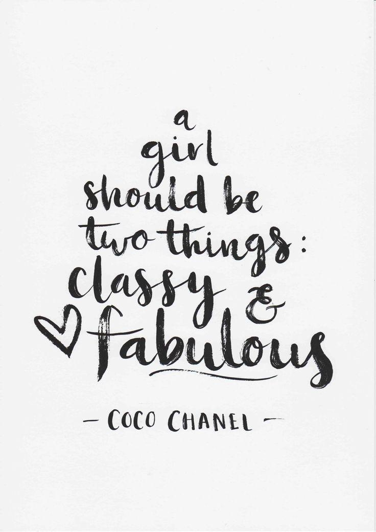 Best 25+ Coco Chanel Quotes Ideas Only On Pinterest | Chanel Within Coco Chanel Quotes Framed Wall Art (View 20 of 20)
