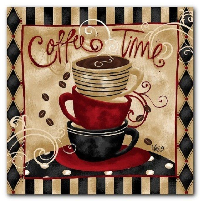 Best 25+ Coffee Theme Kitchen Ideas Only On Pinterest | Cafe Within Cafe Latte Kitchen Wall Art (Image 13 of 20)