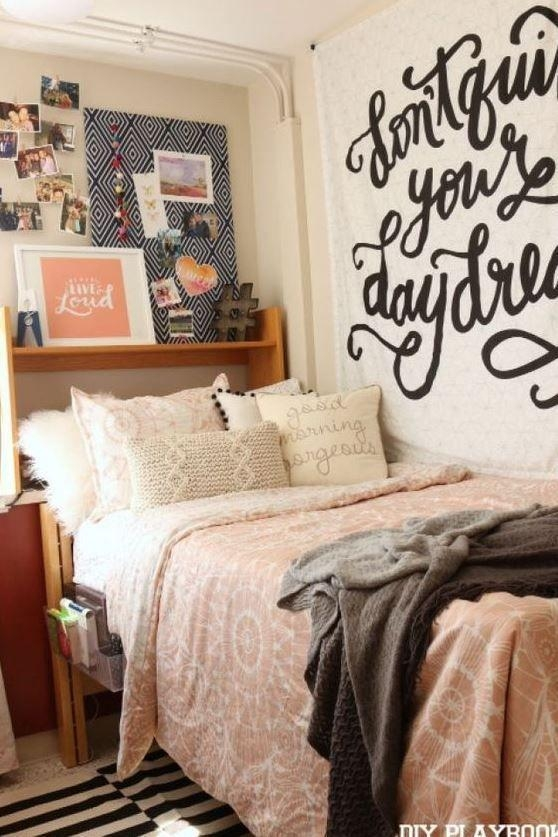 Best 25+ College Dorm Rooms Ideas On Pinterest | College Dorms Pertaining To College Dorm Wall Art (Image 7 of 20)