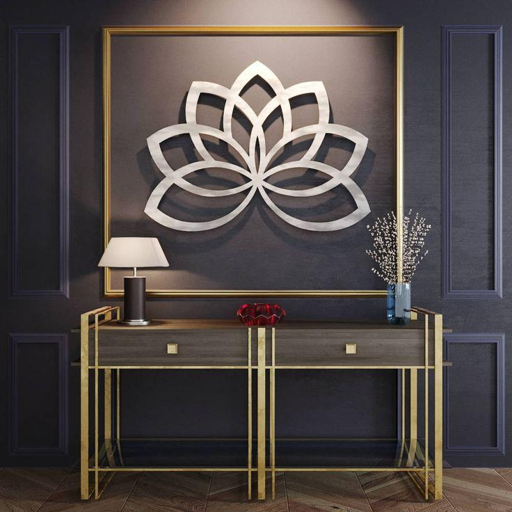 Best 25+ Contemporary Metal Wall Art Ideas On Pinterest In Contemporary Metal Wall Art Sculpture (Image 11 of 20)