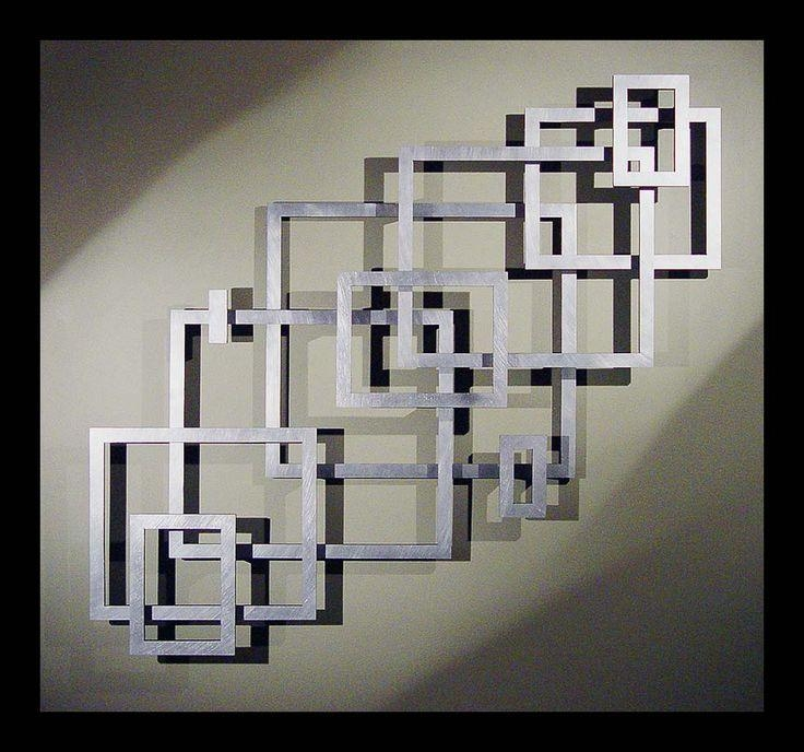 Best 25+ Contemporary Metal Wall Art Ideas On Pinterest Regarding Unique Modern Wall Art And Decor (Image 4 of 20)