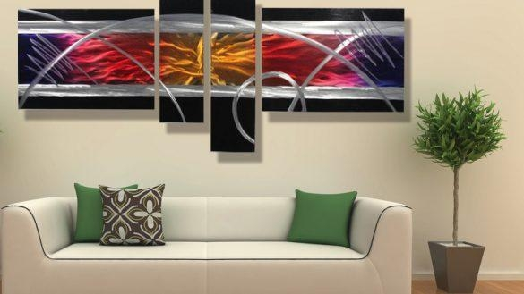 Best 25 Contemporary Metal Wall Art Ideas On Pinterest Regarding Within Contemporary Wall Art (Image 3 of 20)
