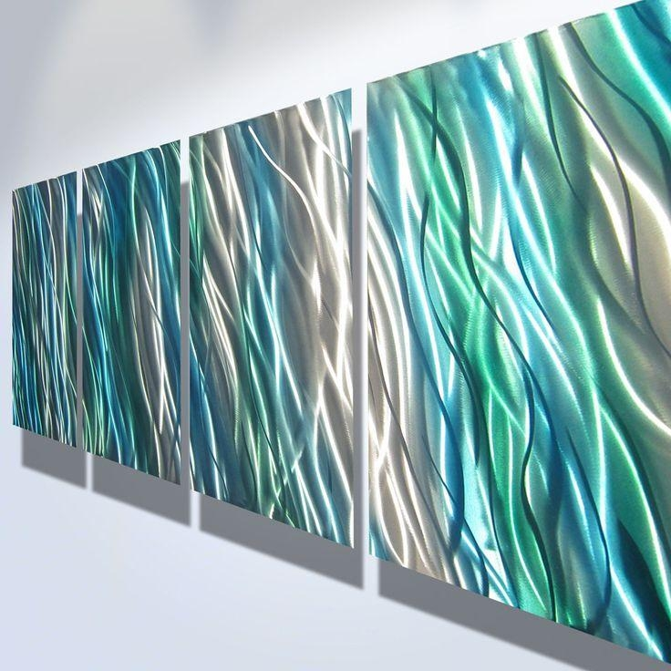 Best 25+ Contemporary Outdoor Wall Art Ideas On Pinterest For Blue And Green Wall Art (View 10 of 20)