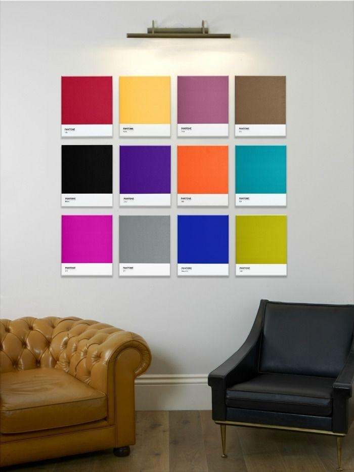 Best 25+ Contemporary Wall Art Ideas On Pinterest | Contemporary Intended For Vibrant Wall Art (View 5 of 20)
