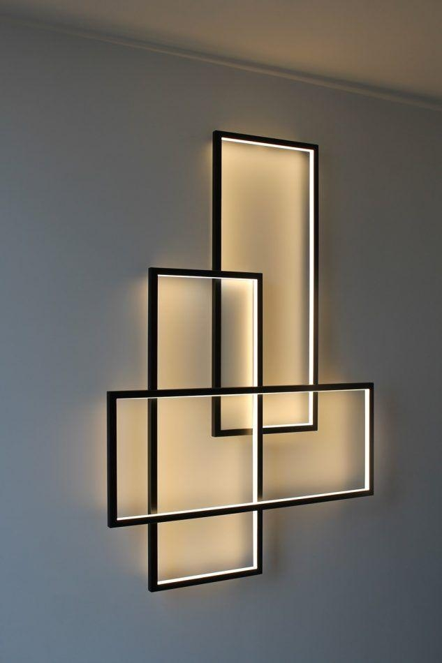 Best 25+ Contemporary Wall Art Ideas On Pinterest | Contemporary Regarding Wall Art With Lights (Image 2 of 20)