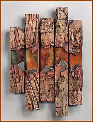 Best 25+ Copper Wall Art Ideas On Pinterest | Gold Print, Metal Intended For Large Copper Wall Art (Image 5 of 20)