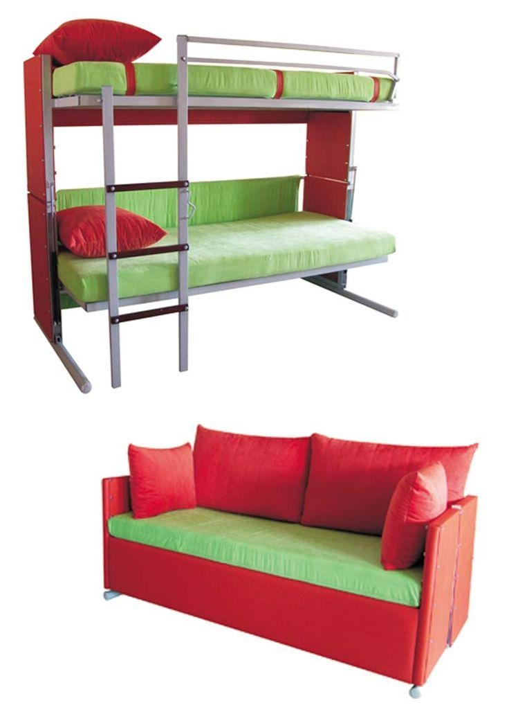 Best 25+ Couch Bunk Beds Ideas On Pinterest | Bunk Bed With Desk For Sofas Converts To Bunk Bed (Image 4 of 20)