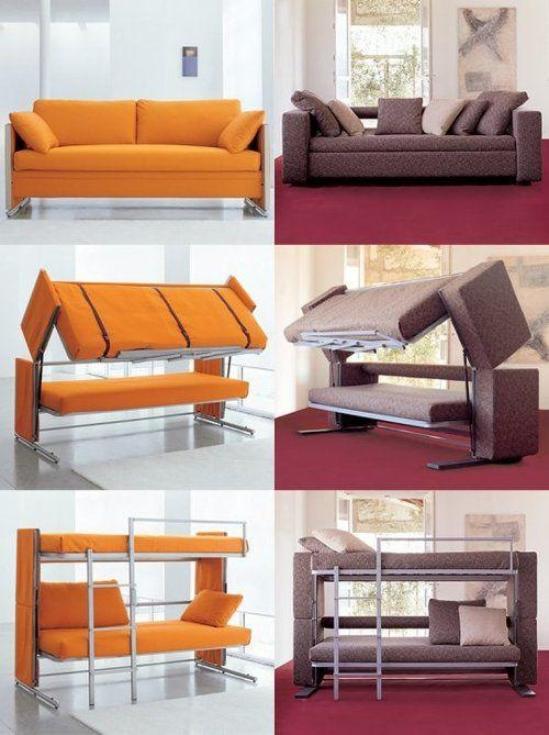 Best 25+ Couch Bunk Beds Ideas On Pinterest | Bunk Bed With Desk For Sofas Converts To Bunk Bed (Image 3 of 20)