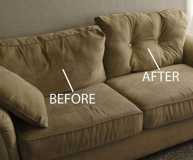 Best 25+ Couch Makeover Ideas On Pinterest | Sofa Reupholstery With Reupholster Sofas Cushions (View 5 of 20)
