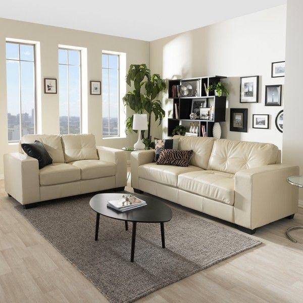 Best 25+ Cream Leather Sofa Ideas On Pinterest | Cream Sofa Intended For Beige Leather Couches (Image 9 of 20)