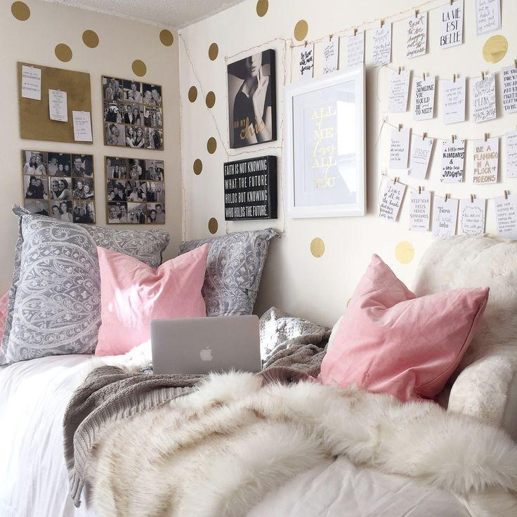 Best 25+ Cute Dorm Rooms Ideas On Pinterest | College Dorms, Dorms Inside College Dorm Wall Art (Image 8 of 20)
