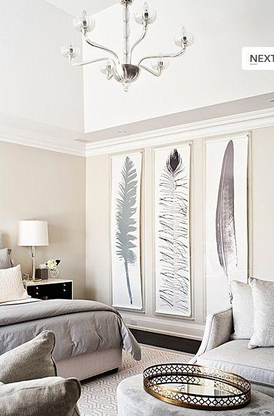 Best 25+ Decorating Large Walls Ideas On Pinterest | Hallway Wall Regarding Large White Wall Art (Image 7 of 20)
