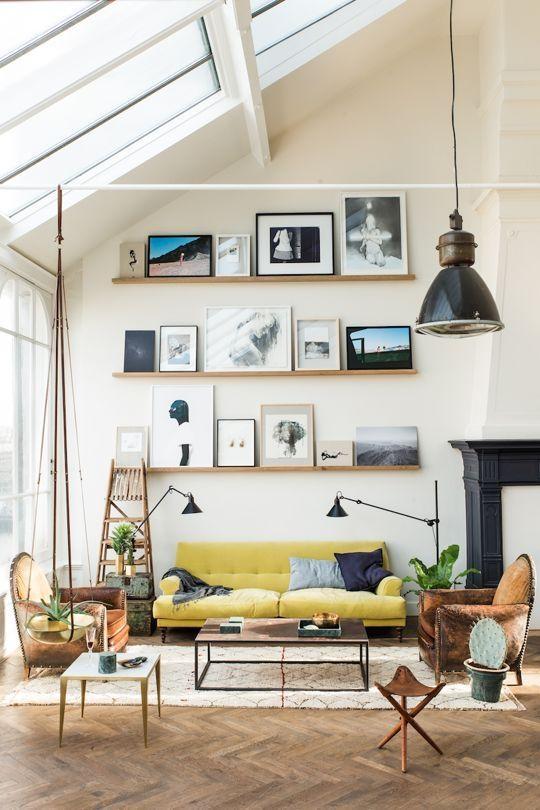 Best 25+ Decorating Tall Walls Ideas On Pinterest | Decorating Throughout Tall Wall Art Decor (View 16 of 20)