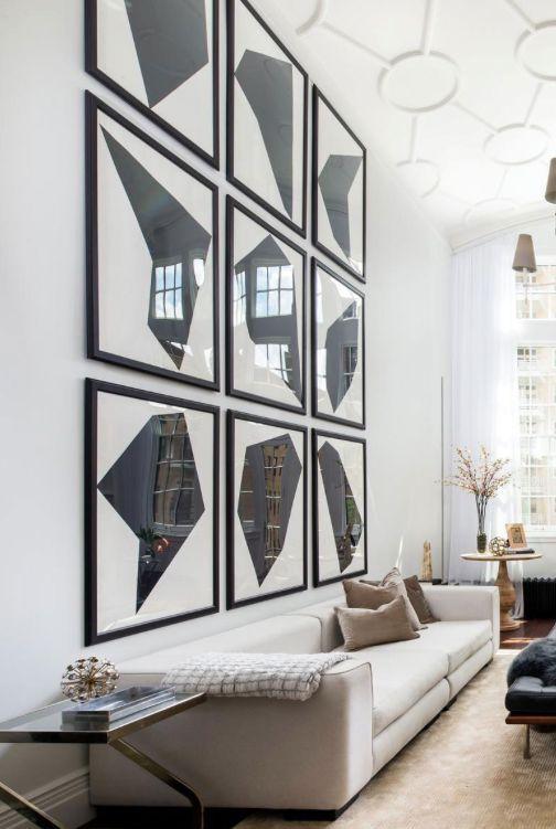 Best 25 Decorating Tall Walls Ideas On Pinterest Within Wall Art Decor