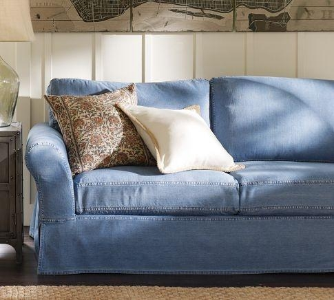 Best 25+ Denim Sofa Ideas Only On Pinterest | Light Blue Couches For Blue Jean Sofas (Image 9 of 20)